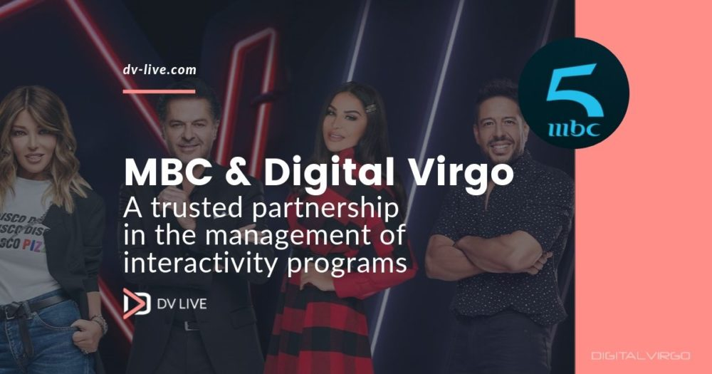 DV Live handles MBC interactivity programs for its new channel mbc5
