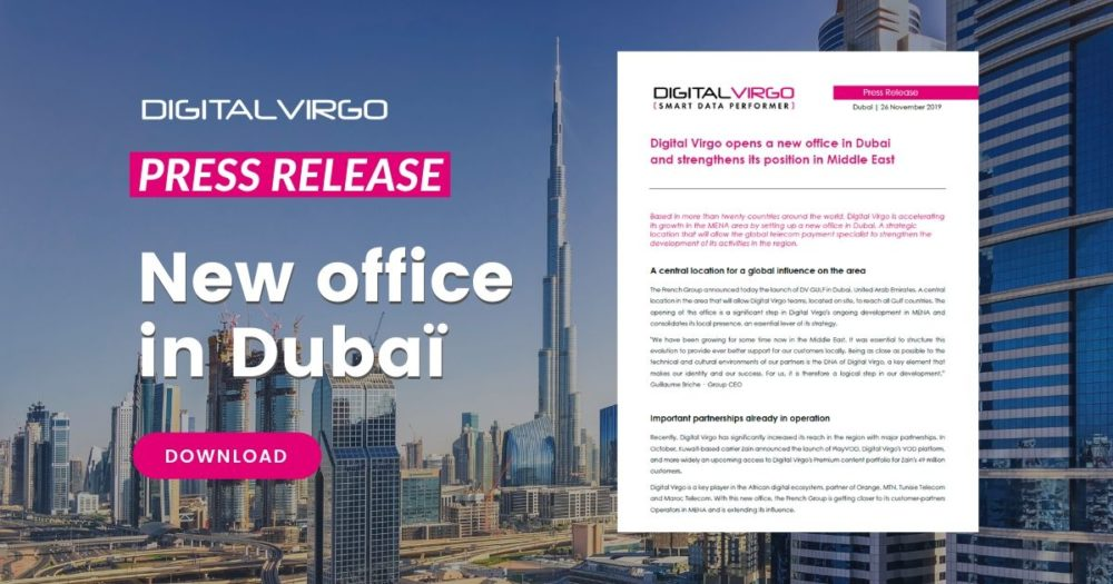 Featured image du nouveau bureau à Dubai